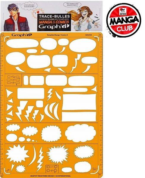 MANGA & COMICS GRID A - Професионален ШАБЛОН за МАНГА и КОМИКСИ