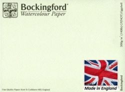 BOCKINGFORD CP 300g EGGSHELL - АКВАРЕЛЕН КАРТОН 56х76 # Made in England