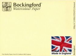 BOCKINGFORD CP 300g OATMEAL - АКВАРЕЛЕН КАРТОН 56х76 # Made in England