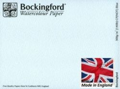 BOCKINGFORD CP 300g BLUE - АКВАРЕЛЕН БЕЗКИСЕЛИНЕН КАРТОН 56х76