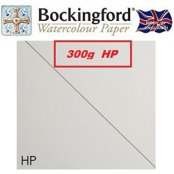 BOCKINGFORD 300g HP 56 X 76 cm. - АКВАРЕЛЕН КАРТОН # Made in England ПОЛУ ГЛАДЪК