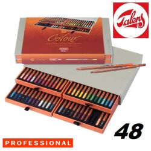 # DESIGN COLOUR PENCIL BOX 48 - Профи ЦВЕТНИ моливи за дизайн и рисуване 48цв