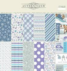 "AUTHENTIQUE USA # FROSTED 12"" x 12""- Дизайнерски блок 30.5 X 30.5"