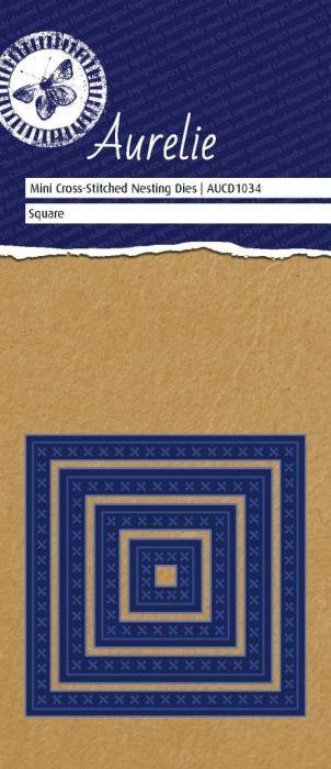 AURELIE SQUARE NESTING  Dies  - Фигурална щанца за рязане и релеф