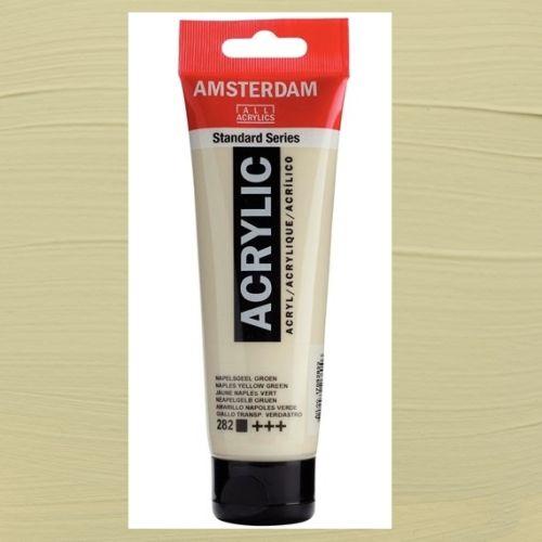 AMSTERDAM ACRYLIC - Акрилна боя за живопис 120 мл. - Naples yellow green 282