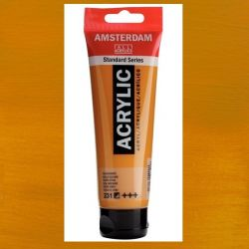 AMSTERDAM ACRYLIC - Акрилна боя за живопис 120 мл. - Gold ochre 231