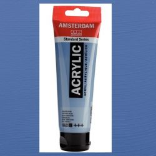 AMSTERDAM ACRYLIC - Акрилна боя за живопис 120 мл. - Grey blue 562