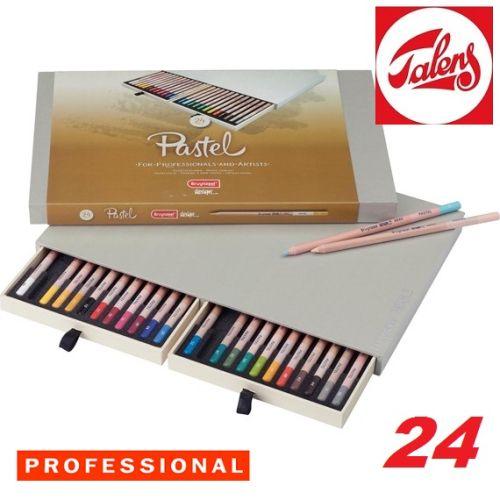 # DESIGN PASTEL PENCIL BOX 24 - Профи ПАСТЕЛНИ моливи за дизайн и рисуване 24цв