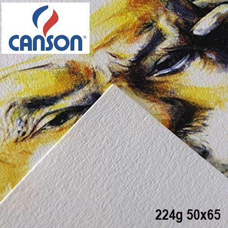 CANSON CAGRAIN 224g -  РИСУВАТЕЛЕН КАРТОН 65х50  224g