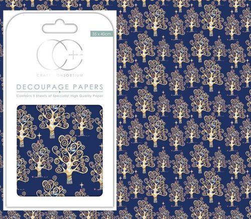 3 DECOUPAGE SHEETS Vintage  - АРТ декупажна хартия 3бр