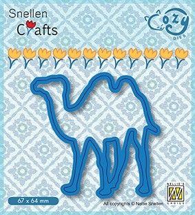 COZY DIES CAMEL - Фигурална щанца за рязане и релеф
