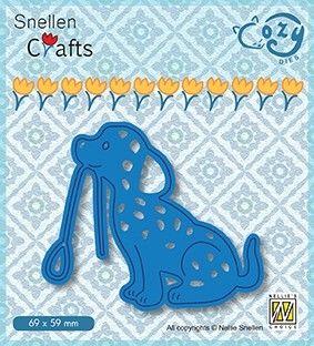 COZY DIES DOG - Фигурална щанца за рязане и релеф