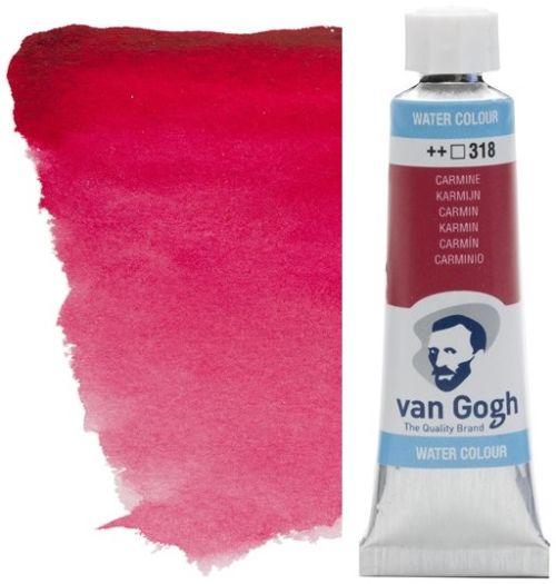 VAN GOGH WATERCOLOUR - Екстра фин акварел 10мл # Carmine 318