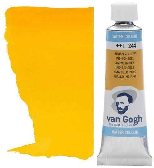 VAN GOGH WATERCOLOUR - Екстра фин акварел 10мл # Indian Yellow 244