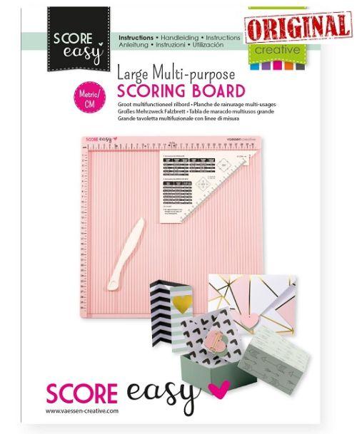 CREATIVE NEW SCORING BOARD ROZE (30,5x30,5 cm) – Крафт борд за биговане / изработка на пликове,кутии