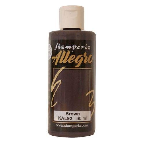 ALLEGRO ACRYLIC  - ДЕКО АКРИЛ  60 ml  / Brown