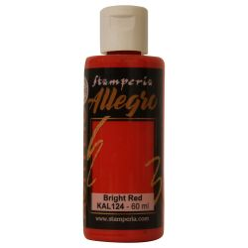 ALLEGRO ACRYLIC  - ДЕКО АКРИЛ  60 ml  / Bright red