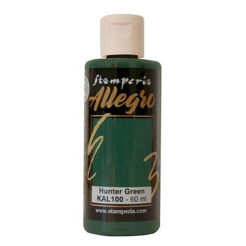 ALLEGRO ACRYLIC  - ДЕКО АКРИЛ  60 ml  /  Hunter green