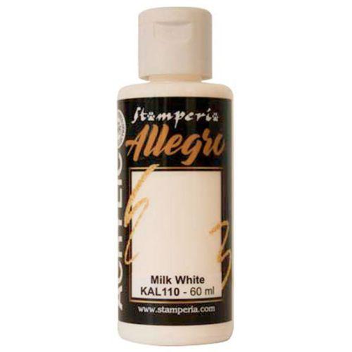 ALLEGRO ACRYLIC  - ДЕКО АКРИЛ  60 ml  / Milk white