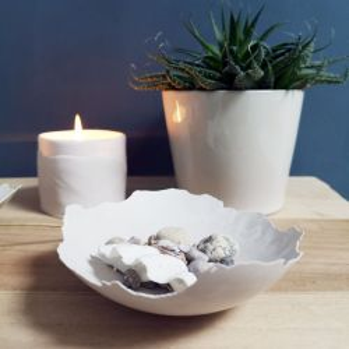 Creative • Kreaform moulding compound White 1kg - Керамична пудра за отливки 1 кг.