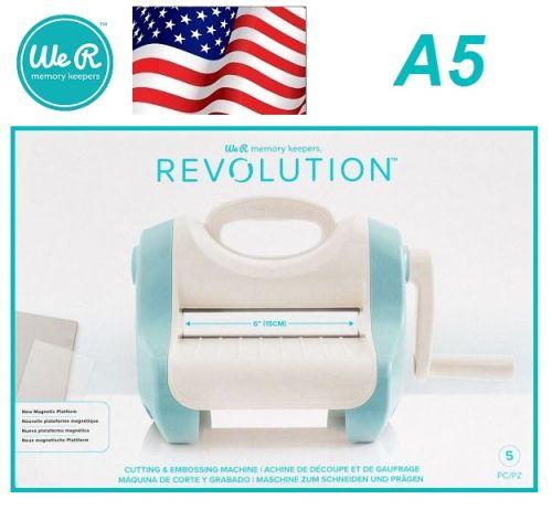 WRMK • REVOLUTION cutting and embossing machine - Машина за изрязване и релеф A5
