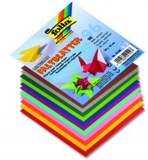 FOLIA, Germany - Комплект хартия за оригами - 96 бр. 19х19 см.