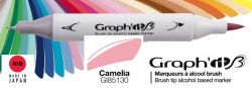 # GRAPH IT BRUSH MARKER - Двувърх дизайн маркери ЧЕТКА - CAMELIA