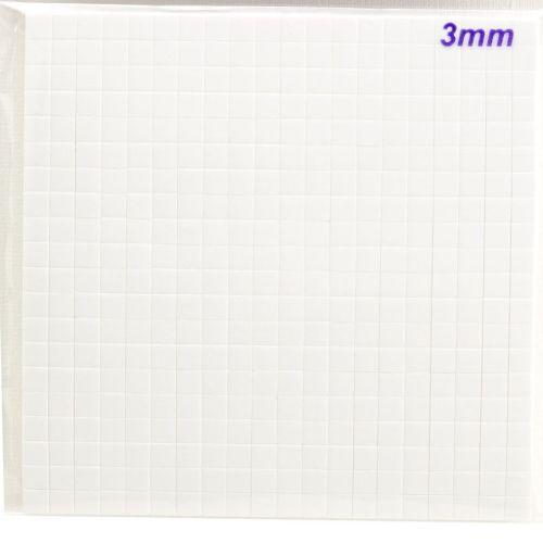 """Creative • 3D Foam squares 5x5mm """"3mm"""" - 3Д двойно лепящи квадратчета"""