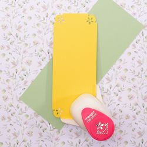 Creative • Corner punch daisy medium - Ъглов пънч, Daisy