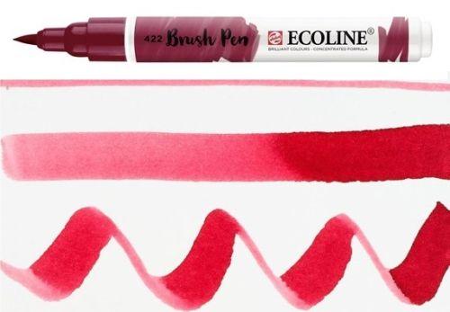 ECOLINE BRUSH PEN  - Дизайнерски маркер ЧЕТКА  - 422 REDDISH BROWN