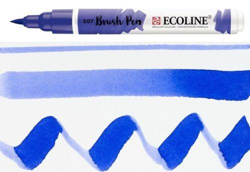 ECOLINE BRUSH PEN  - Дизайнерски маркер ЧЕТКА  - 507 ULTRAMARINE VIOLET