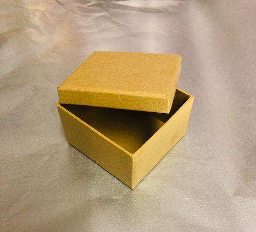 BOX by FOLIA   - папие маше кутийка квадрат 7,5см х 4.5