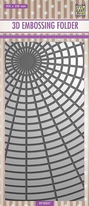 3D-embossing folder  105x210mm- 3D Ембос папка
