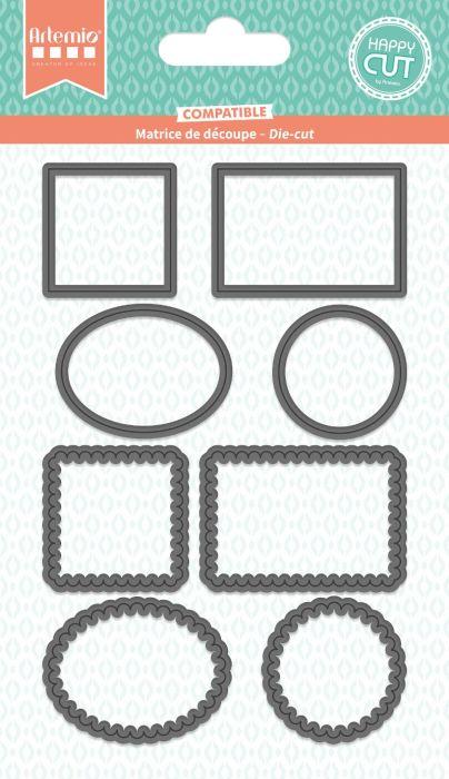 ARTEMIO NEW DIES - Шаблони за рязане и ембос