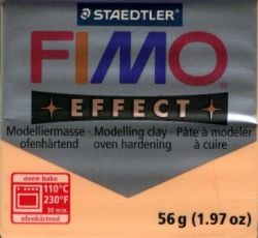 FIMO EFFECT - ПОЛИМЕРНА ГЛИНА Pastel peach 405