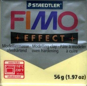 FIMO EFFECT - ПОЛИМЕРНА ГЛИНА  Pastel vanilla 105