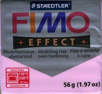 FIMO EFFECT - ПОЛИМЕРНА ГЛИНА Pastel light pink 205