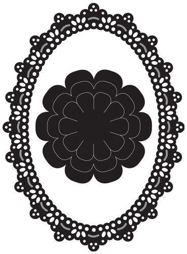 Marianne Design - К-кт шаблони за рязане и ембос 4 бр.