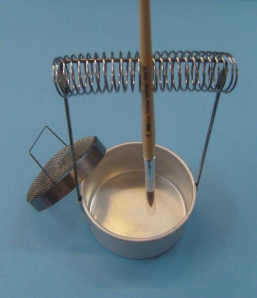 Art&Co Метален съд - поставка за четки