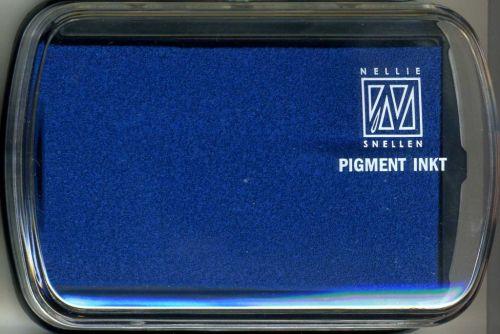 Nellie INKPAD - Голям пигментен тампон LIGHT BLUE