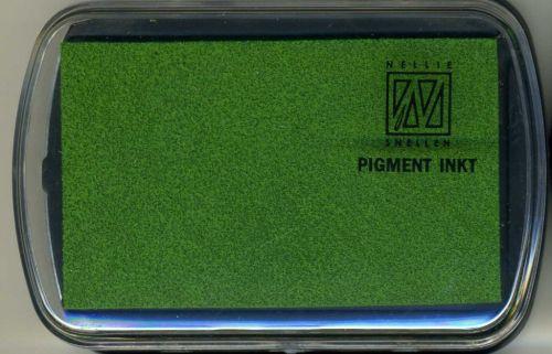 Nellie INKPAD - Голям пигментен тампон LEMON GREEN