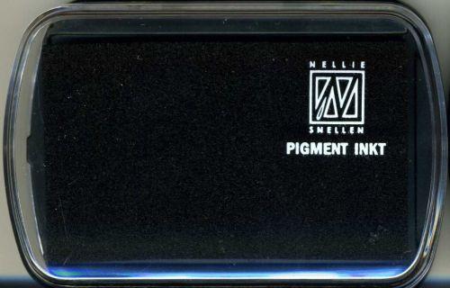 Nellie INKPAD - Голям пигментен тампон BLACK