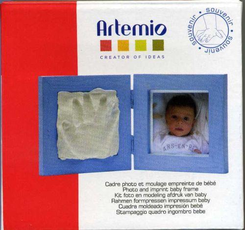 ARTEMIO FRAME SET - Комплект малка Фото рамка + моделин за отпечатък
