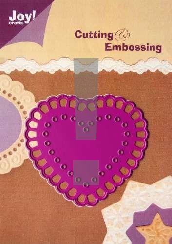 HEARTS by JOY Crafts DIES - Щанца за рязане и ембос, 6002/0019