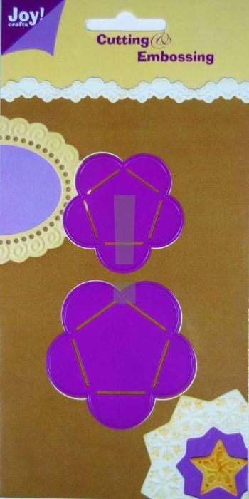 JOY Crafts - Щанци за рязане и ембос  2бр - 6002/0106