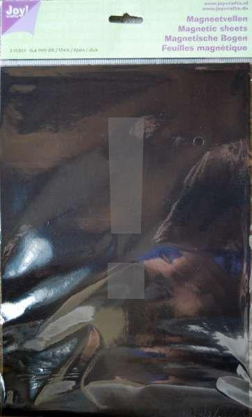 MAGNETIC SHEETS JOY Crafts - 2 бр магнитни листи А4  # 6200/0067