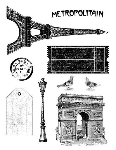 ARTEMIO STAMPS  - Дизайнерска колекция печати 14.5Х18см.