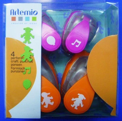 ARTEMIO PUNCH SET - Подаръчен комплект пънчове 4бр / 3015