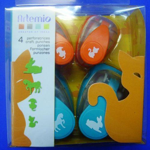 ARTEMIO PUNCH SET - Подаръчен комплект пънчове 4бр / 3017
