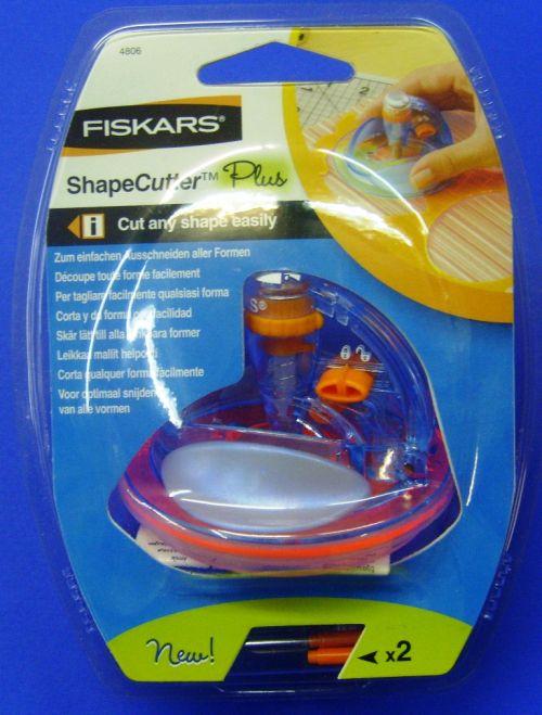 FISKARS Shapecutter Plus - Машинка за свободно изрязване на форми / по шаблон /